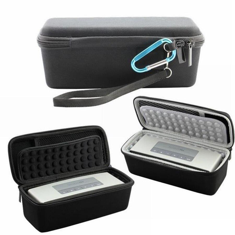 Tiandirenhe for BOSE SoundLink mini Bluetooth Speaker Bag Protection Case Storage Box Outdoor Shockproof Bag for Bose Soundbox