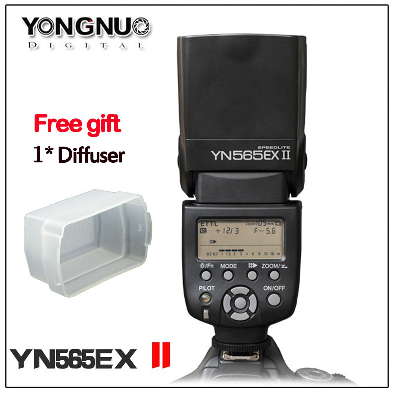 YONGNUO YN565EXII YN-565EX II Wireless Slave TTL Flash Speedlite for Canon 450D 500D 550D 600D 650D 1000D 1100D canon 1100d в одессе