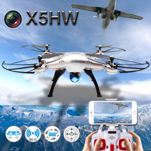 Syma X5HW FPV RC Quadcopter Drone with WIFI Camera 2.4G 6-Axis VS Syma X5SW Upgrade RC Helicopter with 2 battery