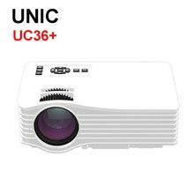 Original UC36 1080 P HD de Cine En Casa Cine 3D HDMI USB LCD LED Multimedia Mini Proyector projetor Digital Más barato que UC46