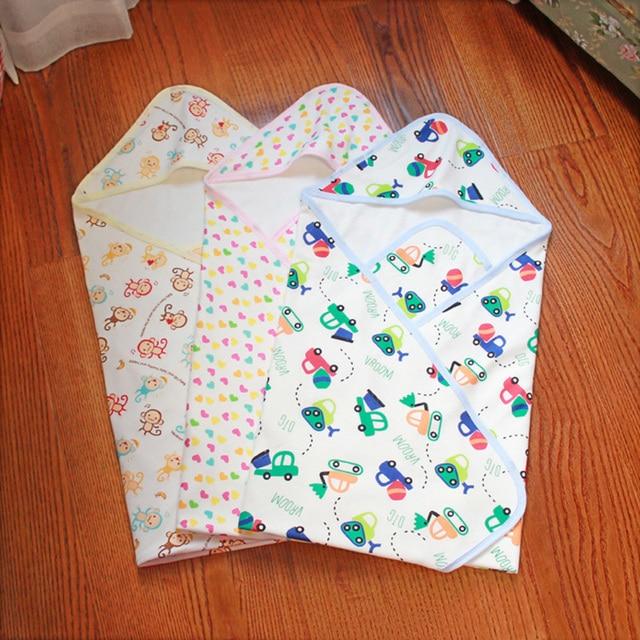 Новый дизайн спальный мешок Новорожденных спальный мешок Зимние Коляски Кровать милый ребенок Спальные Мешки