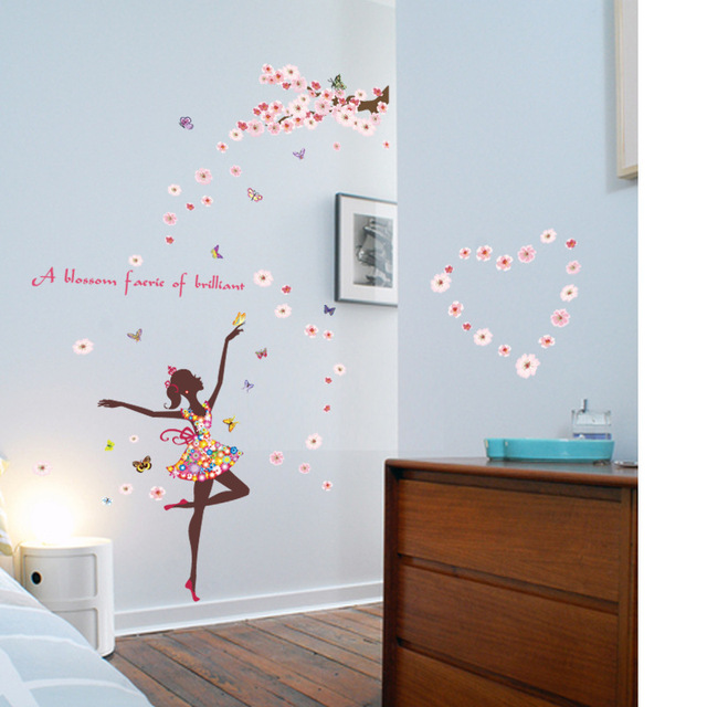 Lovely Butterfly Fairy Dance Wall Decoration