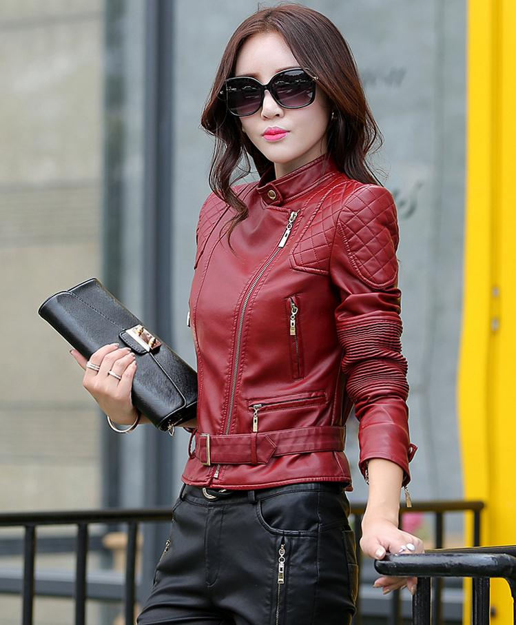 Compare Prices on Ladies Black Leather Bomber Jacket- Online ...