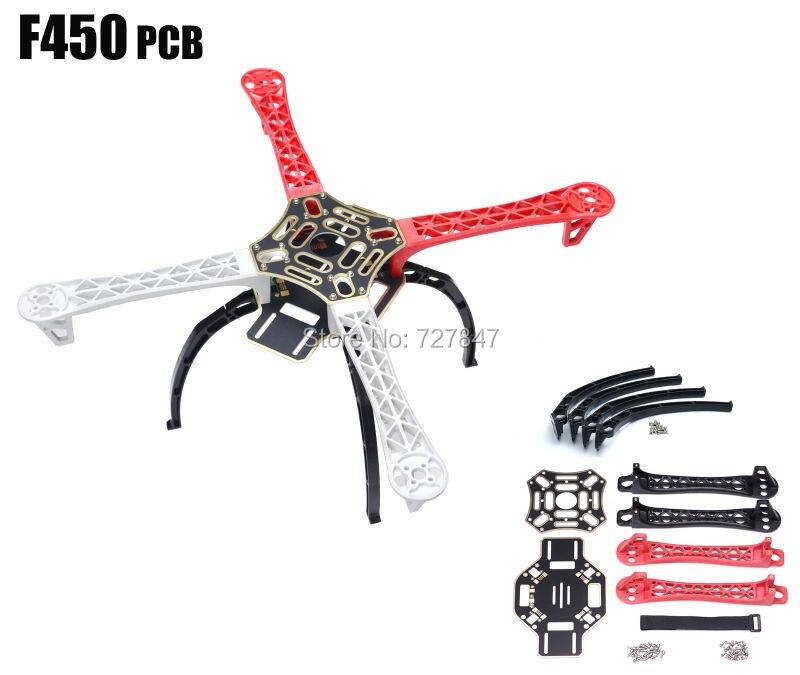F450 Multi Copter Quadcopter Rack Kit Frame QuadX Quad KK MK MWC
