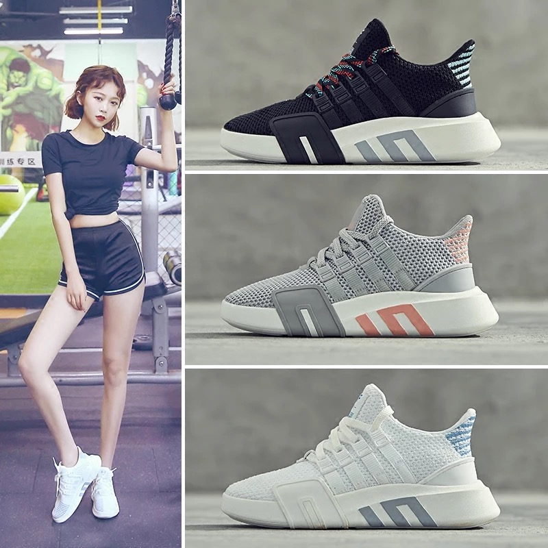 Dumoo Meisje Witte Sneakers Schoenen Vrouwen Casual Schoenen Vrouwelijke Mand Femme Wit Sneakers Schoenen Hak 3cm Zapatillas Mujer Trainers-in Sneakers voor vrouwen van Schoenen op  Groep 2