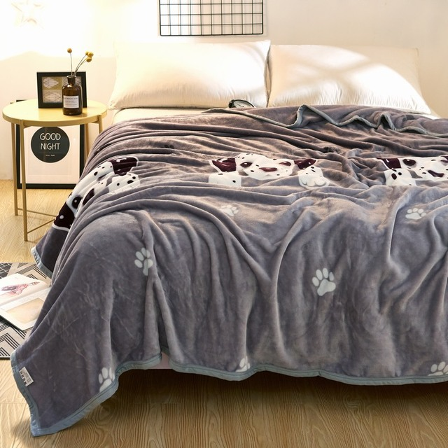 grey pure and lovely white puppy design bed of the goods cloud mink