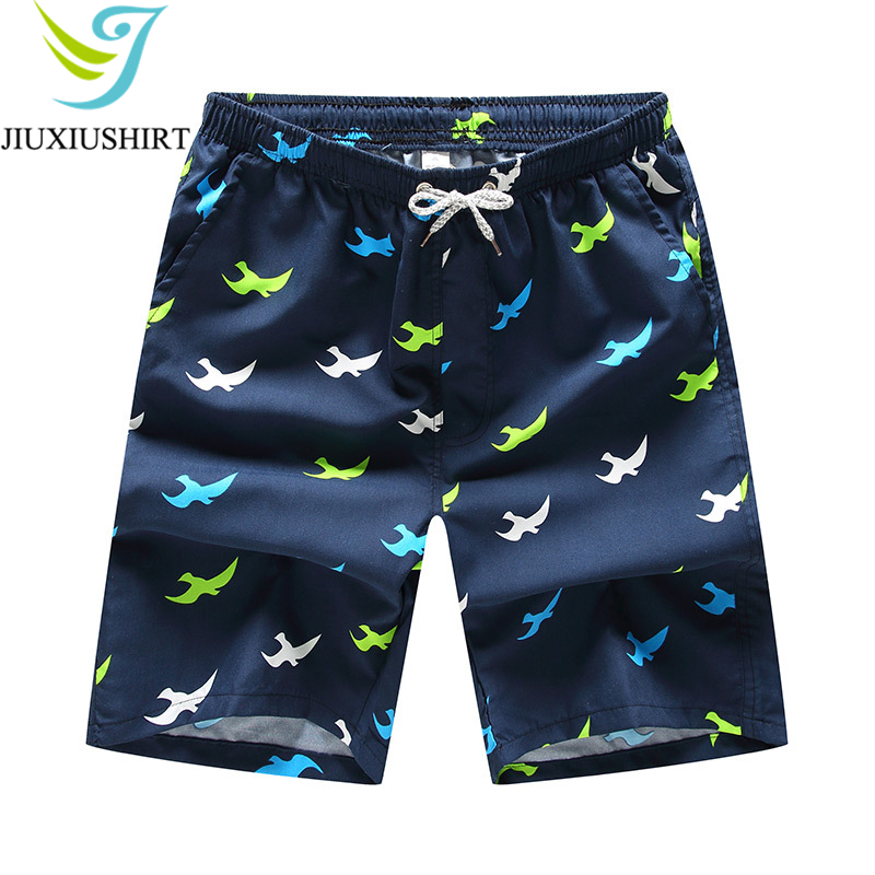 Men Quick Dry Beach   Shorts   Printed Swimwear Swimsuit Swim Trunks Breathable   Board     Shorts   Beachwear   Shorts   Running   Shorts   M-4XL