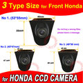 Para Sony CCD Honda Odyssey Ciudad Nuevo Civic Accord Crosstour Spirior CRV logo Del Frente Del Coche de La Cámara de Seguridad para GPS