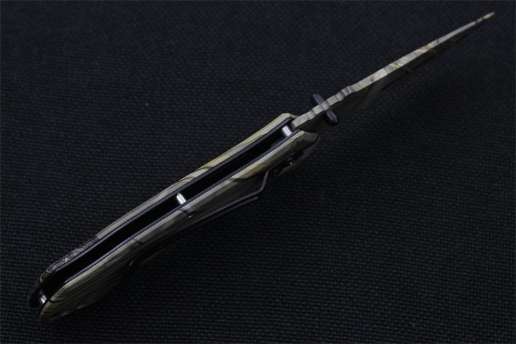 CS GO harcos kés hawkbill taktikai játék terepszín kés valódi - Kézi szerszámok - Fénykép 6