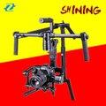 Zhiyun Brilhando 3-axis Gimbal Estabilizador 5D3 7D SLR Profissional Câmera suporte 4 KG PK Guindaste EC1 DHL EMS Livre 2017 O Mais Novo brilhando