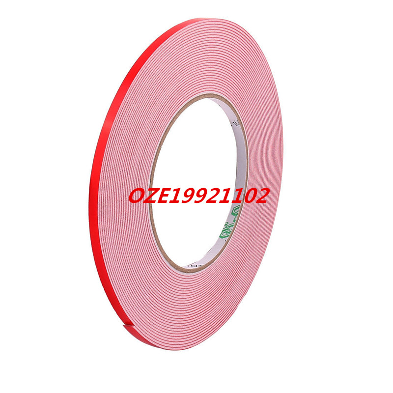 5mmx1mm Double Sided Sponge Tape Adhesive Sticker Foam Glue Strip Sealing 33Ft 1pc durable double sided tape adhesive high strength double faced tape foam attachment tape two sided adhesive 10mx20mm