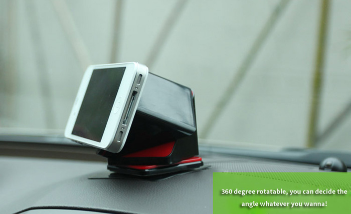 COOSKIN Cube Mount Mobile Phone Car Dashboard Holder for iPhone iPad Samsung HTC LG etc.