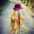 Wool girls sweaters cardigan coat  3-8Y  child winter cardigan for girls sweater long Turtlenecks children kids sweater autumn