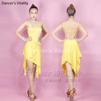 Children Adults Women Latin Dance Dress Sexy Clothes Latin Dance Tango Dress Samba Skirts Latin Wear