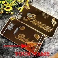 Personalize Customize Name Case Cover For Samsung Galaxy S9 S9Plus S8 Plus Aluminium Case S8Plus Note