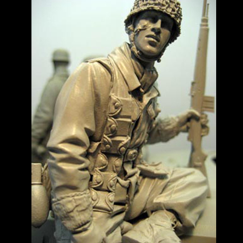 1/16 Model Kits Resin Figures  WW2 Soliders Figures Unpainted And Unassembled 139G