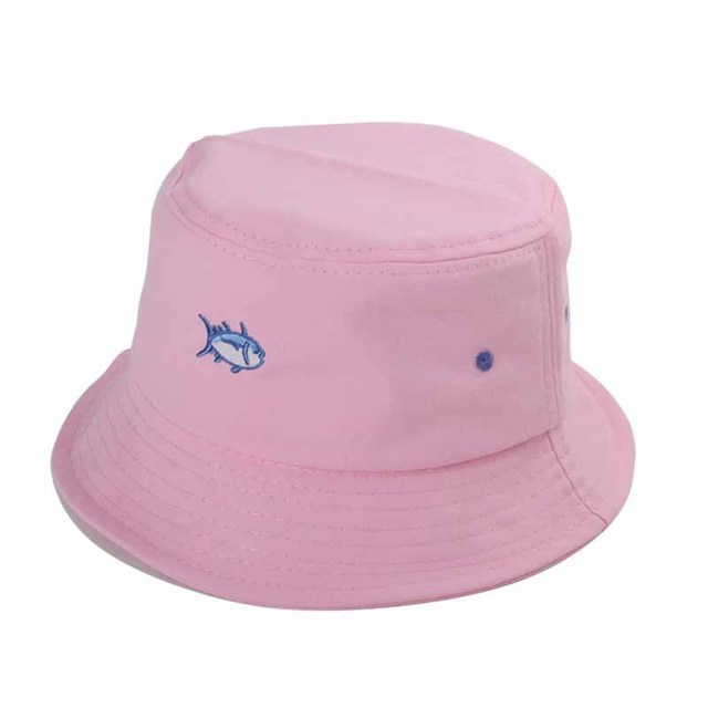 2018 New Summer Simple Retro Cute Little Fish Embroidered Fishing Bucket  Hats 56753a644fc1