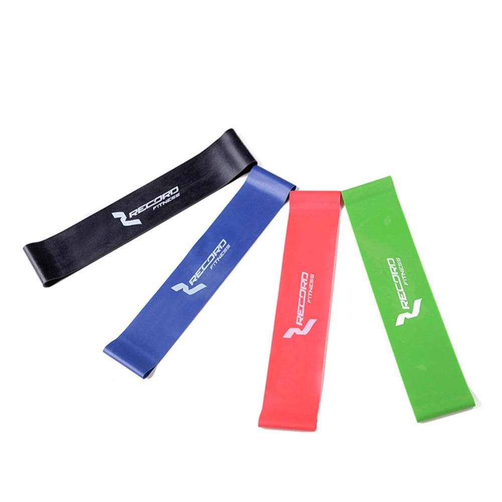 New High-strength Fitness Exerciser Rubber Resistance Band Ring Rope Gym Mustle Elastic Strap Equipment Expander Trainer 6 Sizes