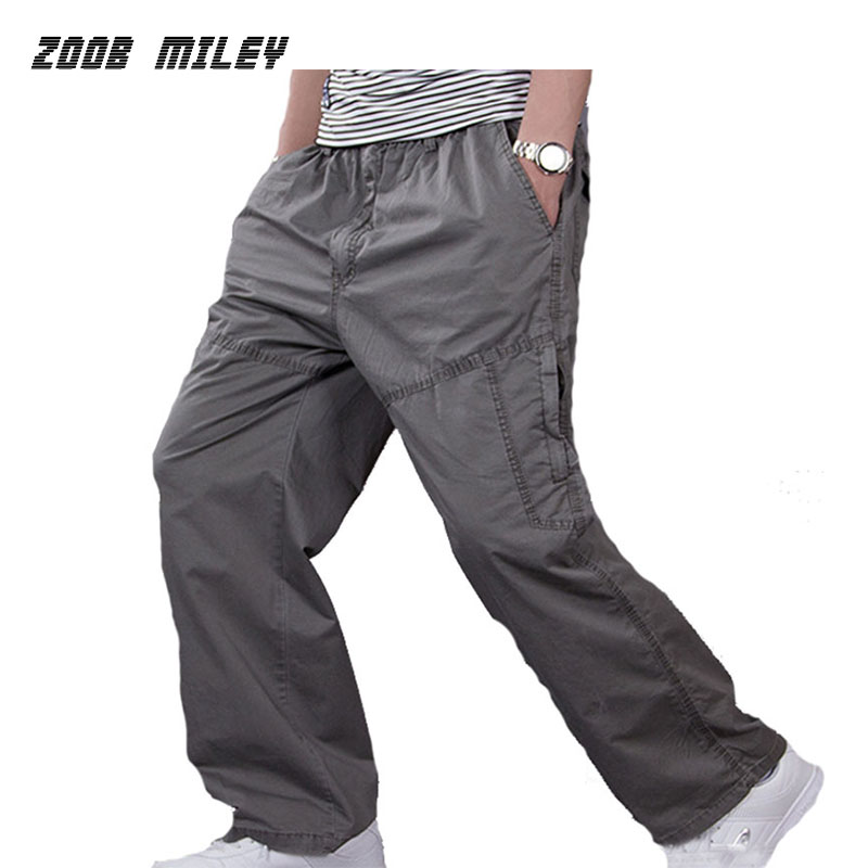 Plus Size XL 6XL Military Cargo Pants Causal Men Workout ...