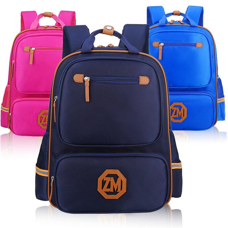 2017 Children Primary School Bags Kids Backpack For Teenagers Boys Girls Knapsack school orthopedic Schoolbags Satchel book bag