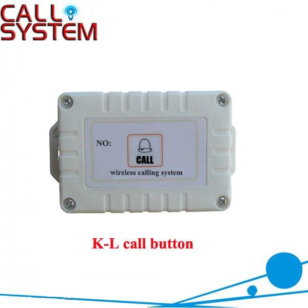 Самая продаваемая Кнопка беспроводного вызова K-L строительный Лифт, любой язык любой логотип приемлемый