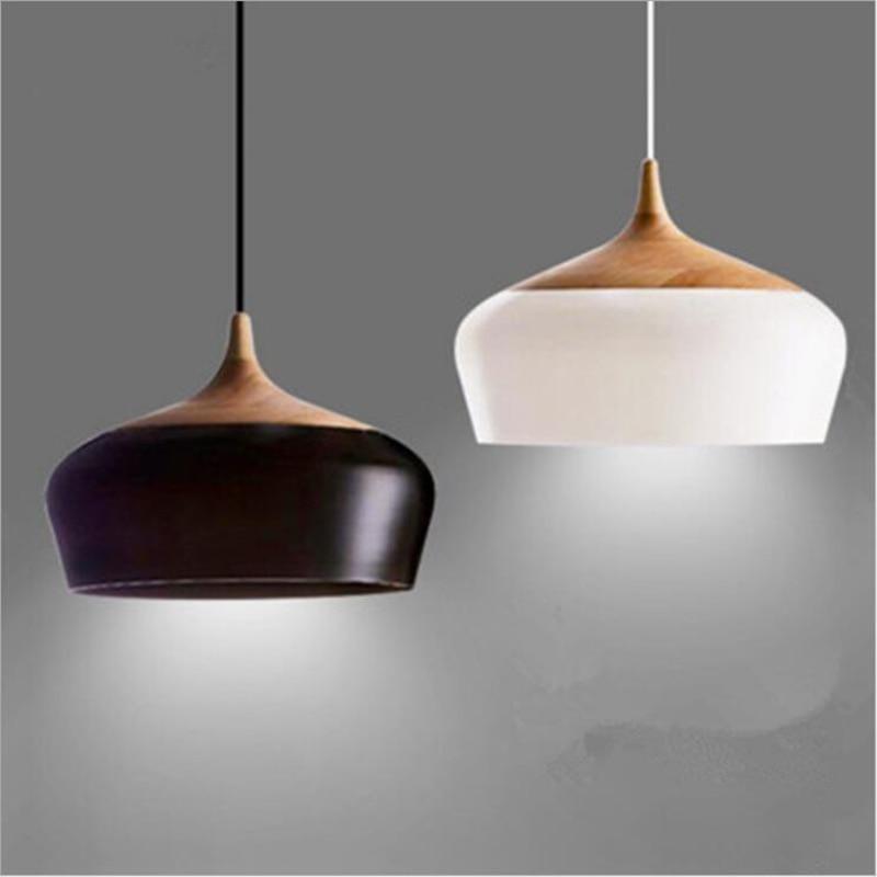modern pendant lights retro Nordic Light hanging iron Loft lamp led for kitchen dining room lampara industria Fixture Lighting