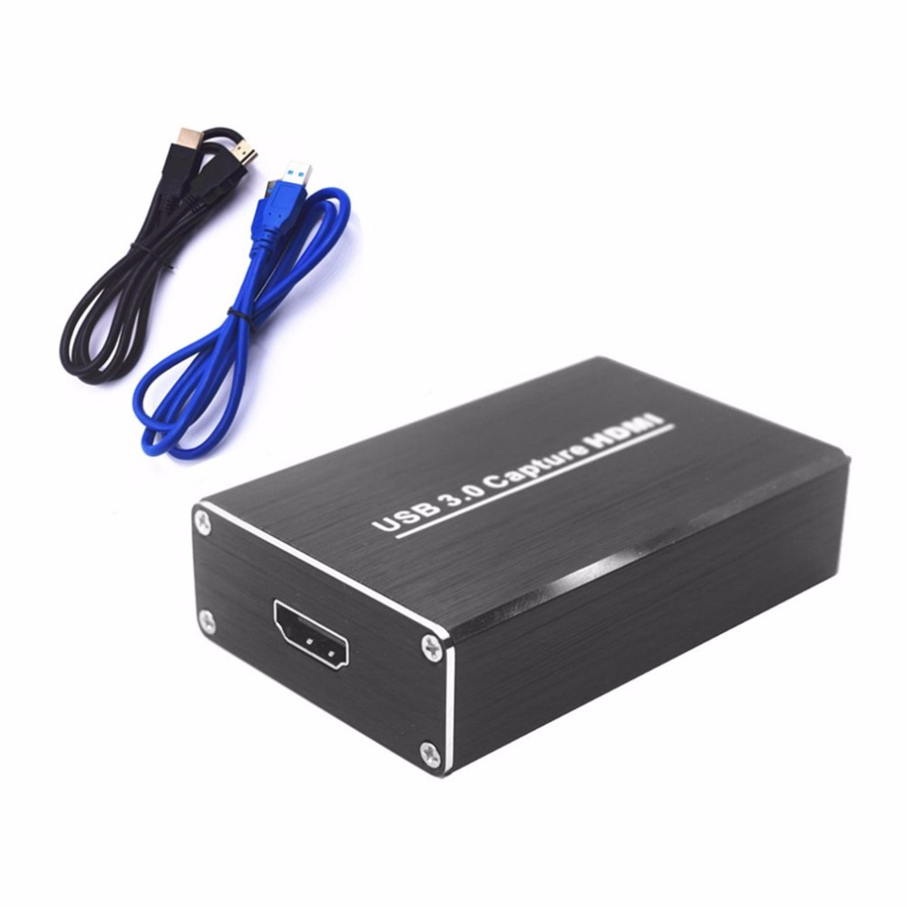Free Drive USB3.0 Capture HDMI To USB Capture Video Capture Dongle HD Phone Games Meeting Video Capture Box For OBS POTPAYER portable universal uvc compliant hdmi to usb 3 0 video converter adapter stream video capture box dongle drive free