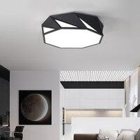 Современные светодиодный Потолочные светильники для лампада светодиодный фойе полые алмаз Дизайн внутреннего освещения потолочный свети