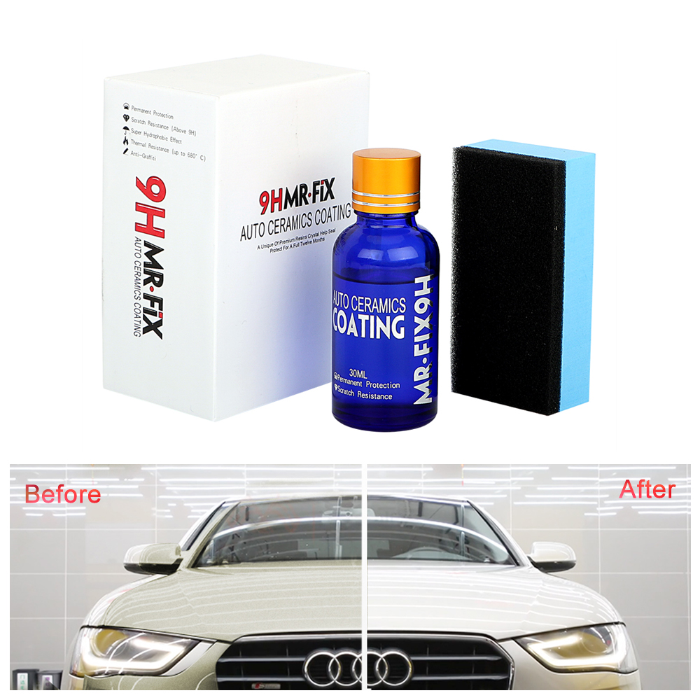 Car-styling Car Super Hydrophobic Glass Coating Car Liquid Ceramic Coat Auto Paint Care Anti-scratch Car Polish Glasscoat