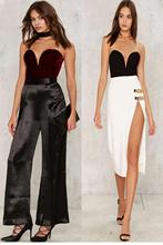 Sleeveless Strapless Velvet Bodysuit