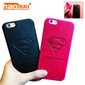 Top Quality Superman Couples Leather Flip Phone Case for Apple iPhone 7 7Plus 6 6s 6Plus 6sPlus protective Back Cover Coque