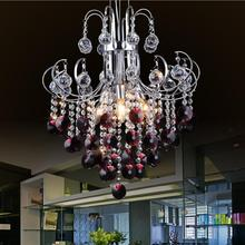 Luxury Chrome Crystal Chandelier Lighting For Living Room Ceiling Restaurant Modern Led Lustre Cristal