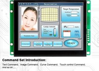TFT Controller Color LCD 10.1 Inch For Alarm System