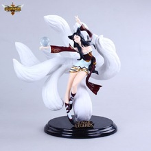 LOL hero allianceDo people,A large gift boxes -Ahri,Anime models, children's toys. Gifts for children.