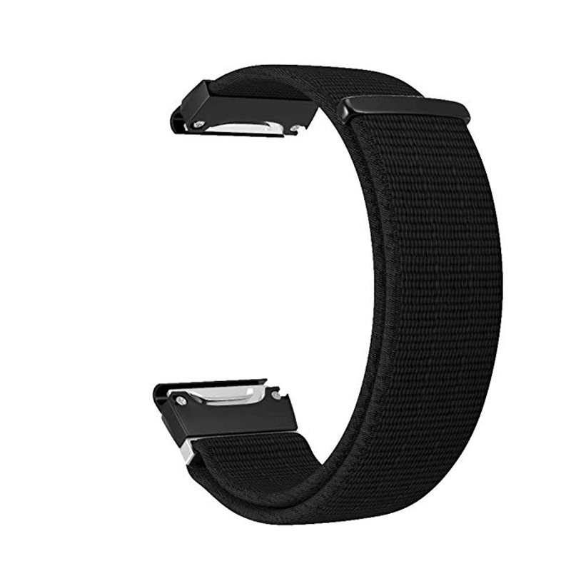 26 22MM Nylon Watch Strap For Garmin Fenix 5X 5 3 3HR D2 S60 GPS Watch Release Quick Fit Wrist Band Strap For Forerunner 935 945