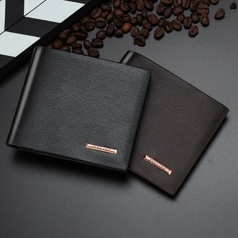 Men Wallets Leather Male Luxury Famous Brand Casual Quality Credit Card Holder Purse Wallet Coin Pocket Black Billetera Hombre 3