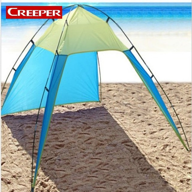 Outdoor Travel Awning Comfortable Umbrella Camping Sun Shelter Tents For Winter Fishing Family Tarp Free Shipping