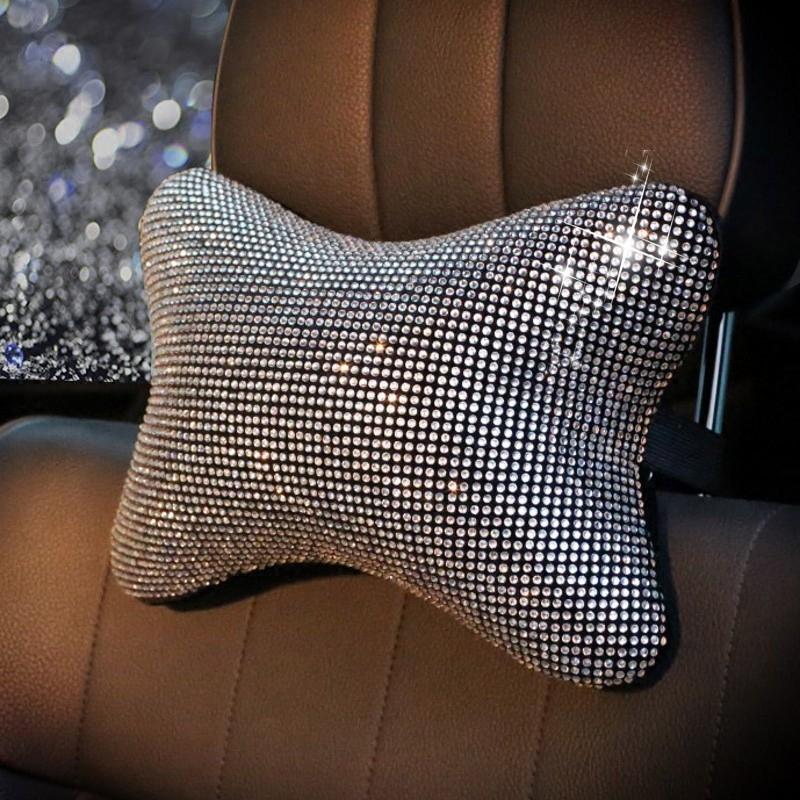 Luxury-Full-Crystal-Car-Headrest-Waist-Cover-Cute-Car-Interior-Accessories-1