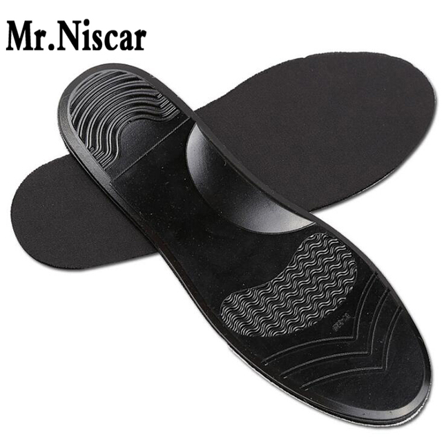 ac0c27dc6fd4e PU Mesh Shock-Absorbant Silicone Gel Insoles Sports Super Comfort Soft Foot  Protection Arch Support