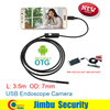 3 5M Android Endoscope Mini Camera OTG Phone 7mm Lens Inspection Pipe IP67 Waterproof Side Mirrors