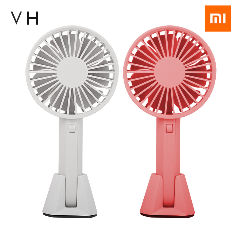 Xiaomi Mijia VH Brand Portable Handheld Fan With Chargable Built-in Battery USB Port Design Handy Mini Fan For Smart Home kit