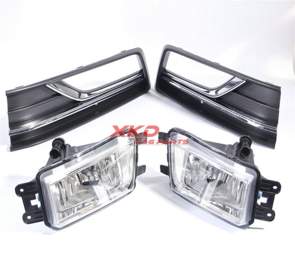 OEM Front Left Bumper Foglamp Light Grille For VW Passat NMS