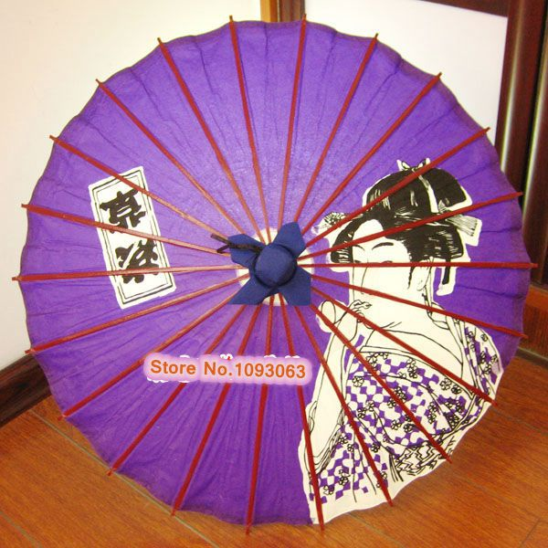 b077920b3cbb3 Japanese Umbrella 64CM Diameter Ukiyo e Variety Pattern-in Umbrellas from  Home   Garden on Aliexpress.com