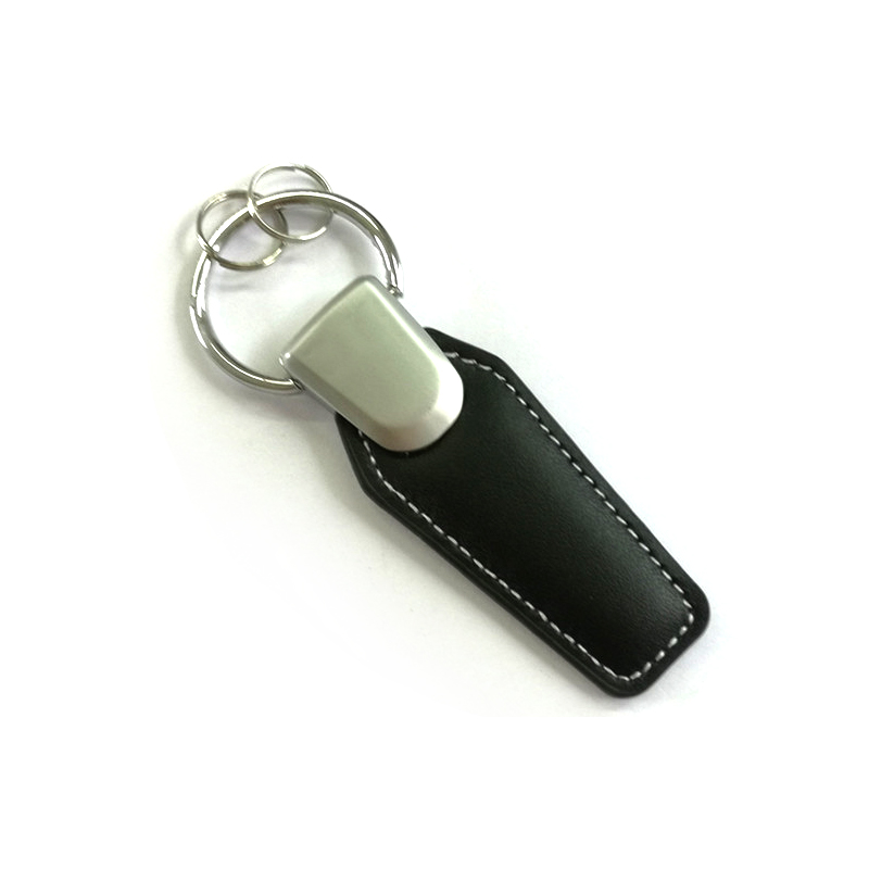 1pcs Newset Leather Car Logo Keychain Key Rings Keyring
