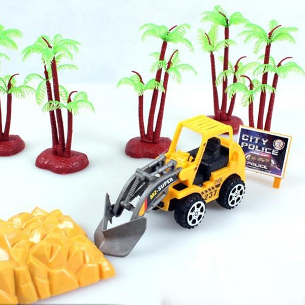 Kids toy pressure truck mannequin Dusty Unfastened humorous Reward Cargo Container Assortment traile free shippig