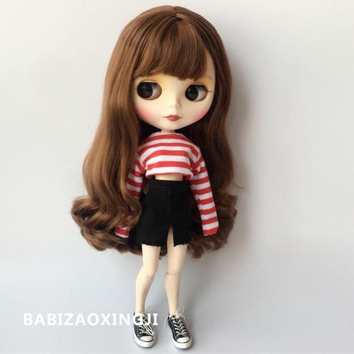Fashionista Barbie doll VERY LONG DENIM Skirt FITS CURVY