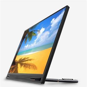 Image 4 - 15.6 polegada LCD Monitor Portátil Ultrafino 1080 P Jogo Do Monitor IPS HD USB Tipo C Dispaly para laptop telefone XBOX interruptor e PS4