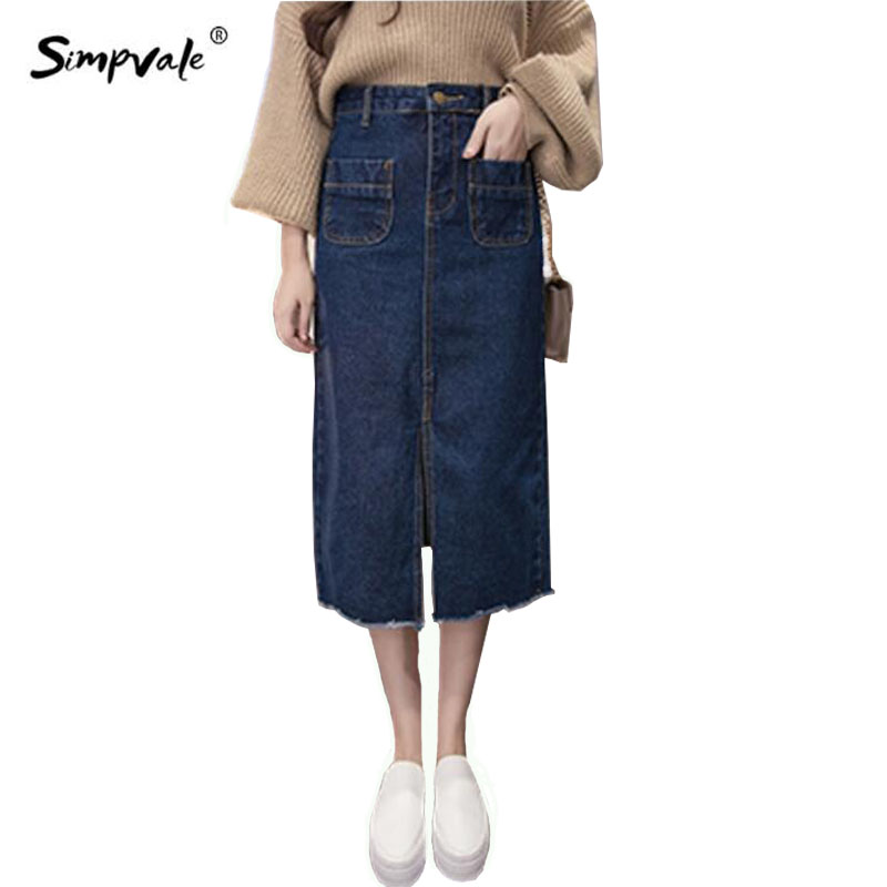 Popular Jeans Pencil Skirt-Buy Cheap Jeans Pencil Skirt lots from ...