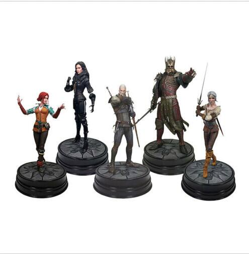 Dark Horse Deluxe The Witcher 3 Wild Hunt Figure Geralt Ciri Triss Yennefer Ered The Witcher Figure Pvc Toys
