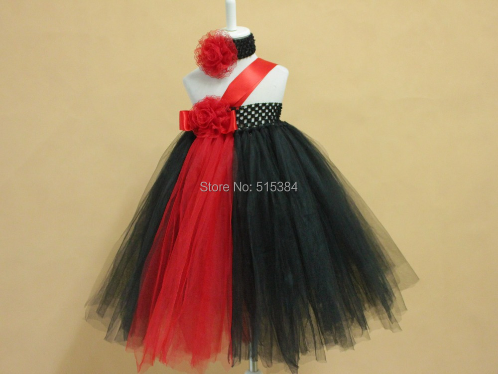 New Designs Black Red Tutus For Children Kids Girls Princess Evening Tutu Gowns Retail Wholesale Baby Summer Dresses In From Mother On